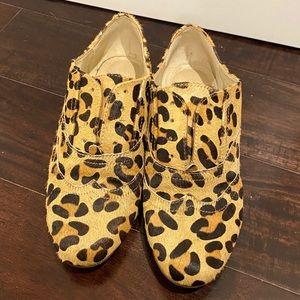 Steve Madden Oxford Leopard Shoes